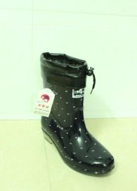 女士式橡胶雨靴(306)