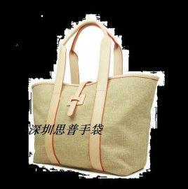 深圳手提麻布包