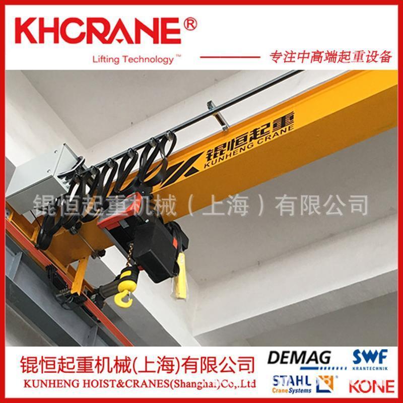 125kg科尼KONE電動葫蘆配KBK輕軌吊單樑起重機,KBK鋁軌,懸臂吊