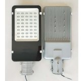 led太陽能路燈外殼平板燈頭30W40W50W壓鑄小金豆路燈頭外殼套件