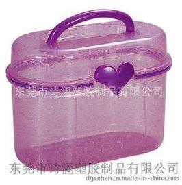 自主开发 手提型透明塑料盒 PP收纳盒SH-6405(百种款式可选)