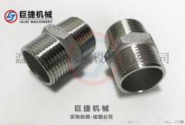 双头外丝 不锈钢六角外丝 铸造外丝接头 不锈钢外丝