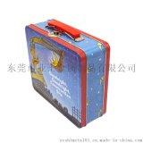 东莞铁盒厂家|定制卡通手挽罐|可爱带手挽铁盒
