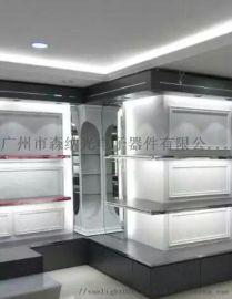 广州森纳定制LED导光板服饰展柜发光板背光板