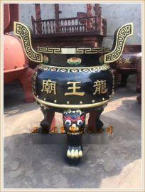 厂家供应铸铁圆形香炉|铸铁圆形六龙柱香炉定做
