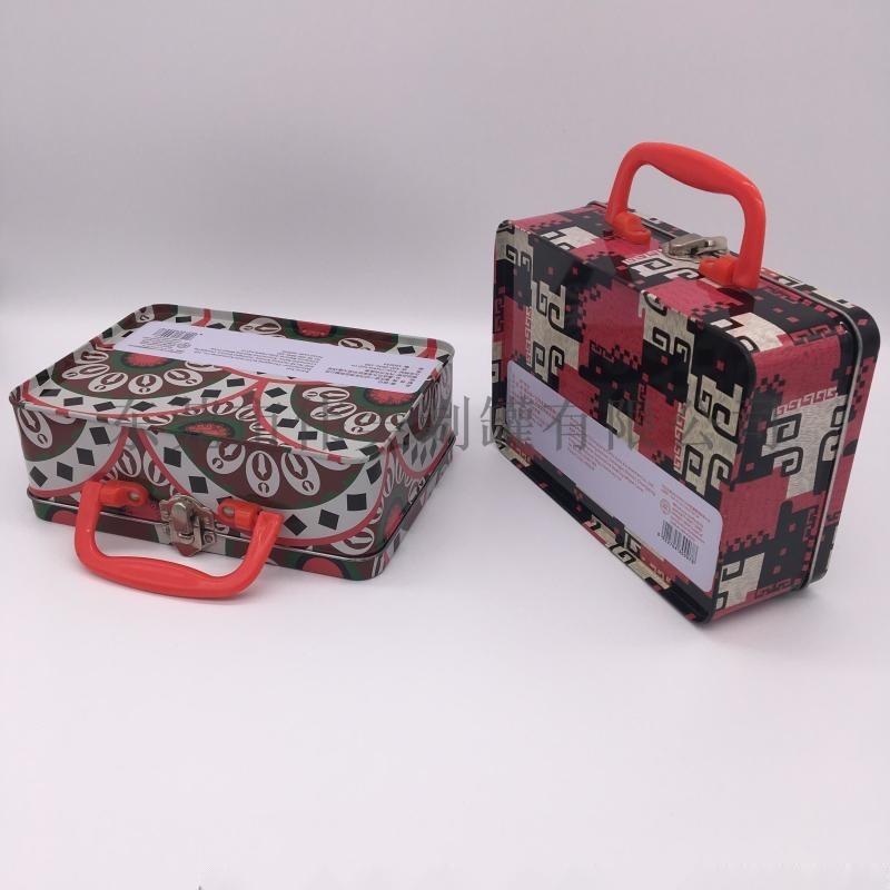 马口铁手挽罐午餐盒 马口铁手提盒