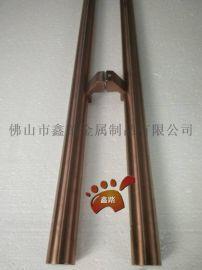 厂家专业定制  不锈钢圆管大门拉手