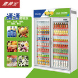 便利店两门/双门冷柜冰柜 啤酒饮料冷饮柜