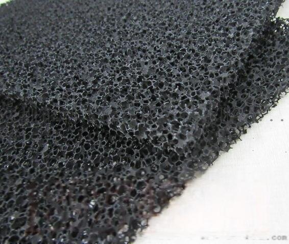 廠家供應信譽保證蜂窩狀活性炭過濾海綿