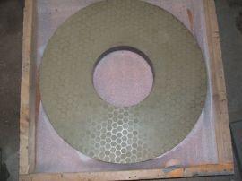 单面研磨冲压黄铜工件用陶瓷金刚石磨盘