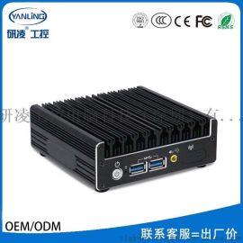 研凌NUC-C2超微型迷你电脑 i5无风扇小主机