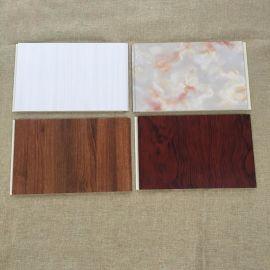 出口标准30公分高分子竹木纤维集成快装墙板 护墙板生产线厂家扣板 集成墙板 生态木护墙板