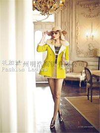 你我约定女装品牌折扣批发找广州明浩品牌服装尾货走份