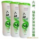 广州供应商低价六神沐浴露,厂家直销一手货源