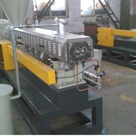 双阶单螺杆水环造粒机  双阶造粒机械专业制造厂家