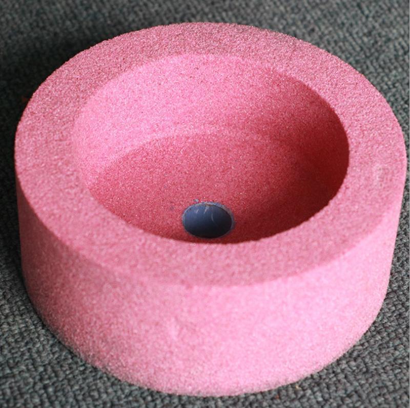 白鴿杯型砂輪150 白剛玉杯型陶瓷砂輪