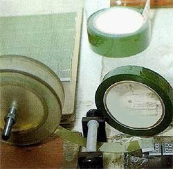 LED高温灌封胶带 绿色耐酸碱高温胶带