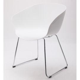 PP塑料餐椅 时尚塑料椅 咖啡椅