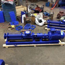 金海泵业G型螺杆泵高粘度泵污泥泵