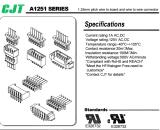 CJT長江A1251板對線連接器,MOLEX同等品連接器廠家供應