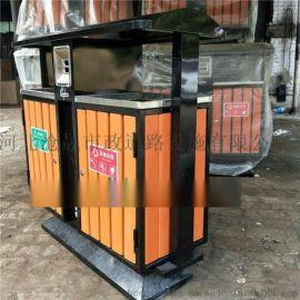 河北垃圾桶鐵皮垃圾桶小區垃圾桶2018新款