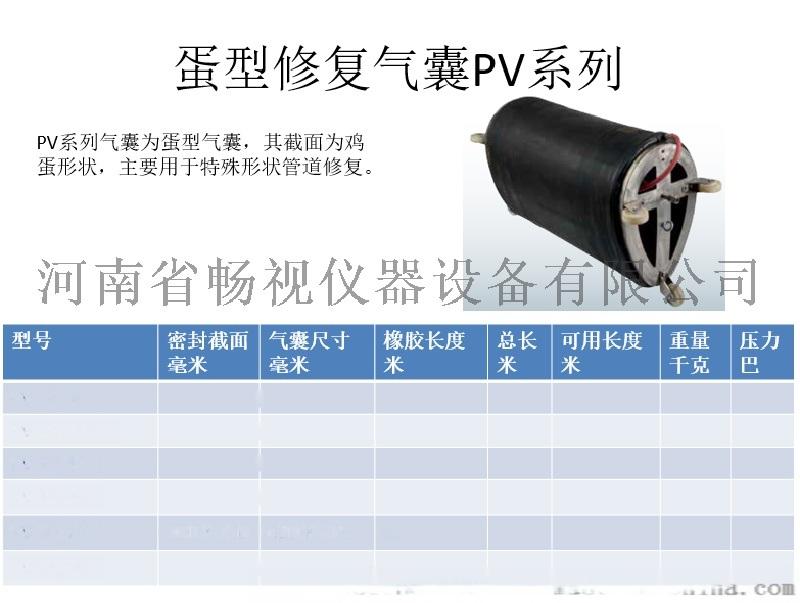 進口氣囊 蛋型修復氣囊 PV系列 密封截面400*600mm