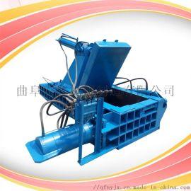 易拉罐铁桶压块机 铝合金液压打包机