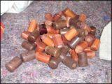 梵雅牌红木杨木榉木竹节蘑菇2.3型 2.5型书画装裱轴头