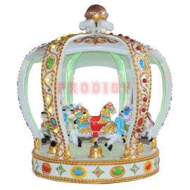 8座皇冠转马 新型豪华转马 神童游乐热销产品