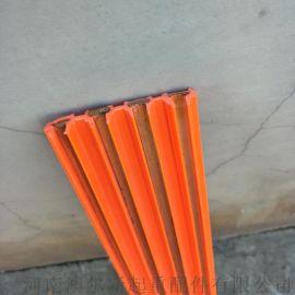 新品热销  单级 多级滑触线  无接缝紫铜芯滑线