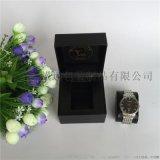 手表盒高档PU皮革名表盒翻盖单只手表包装盒子