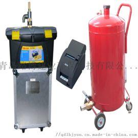 YQJY-2油气回收系统检测仪在山东威海的使用