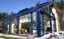 花园阳光房欧式别墅阳光房断桥铝门窗