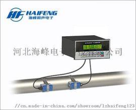 天津固定盘装外夹式超声波流量计
