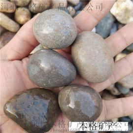 河北本格鵝卵石承託層濾料 鵝卵石墊層濾料加工供應