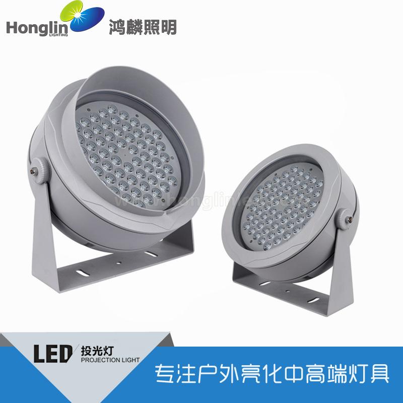 96W窄光束LED投光灯投射5层楼高的投射灯