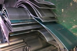 地铁站吊顶彩绘印花铝板 艺术炫彩型材铝方通
