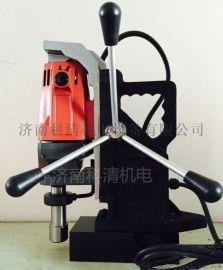 精密鑽孔金屬設備磁力鑽鋼板攻絲取芯磁座鑽