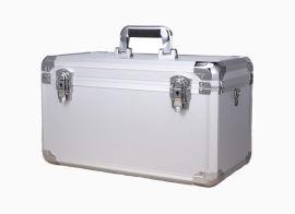 白色铝合金手提工具箱