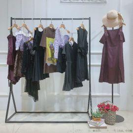 新红连斯棉衣杭州卖品牌的女装尾货有几家折扣 **女装尾货尾货