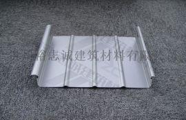 供应铜仁铝镁锰板直立锁边屋面系统65-430