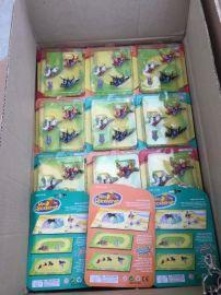 外贸库存小玩具-场景马组合套装玩具按斤,2元店、赠品大礼包**