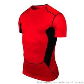 PRO短袖紧身衣跑步健身足球篮球训练男打底背心运动弹力新款