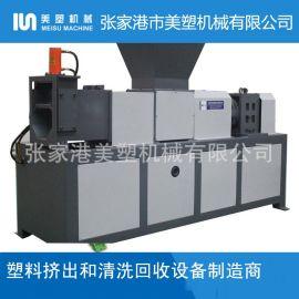 PVC塑料膜挤干脱水机_薄膜挤干机