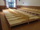 成都简阳幼儿园专用实木床美观漂亮