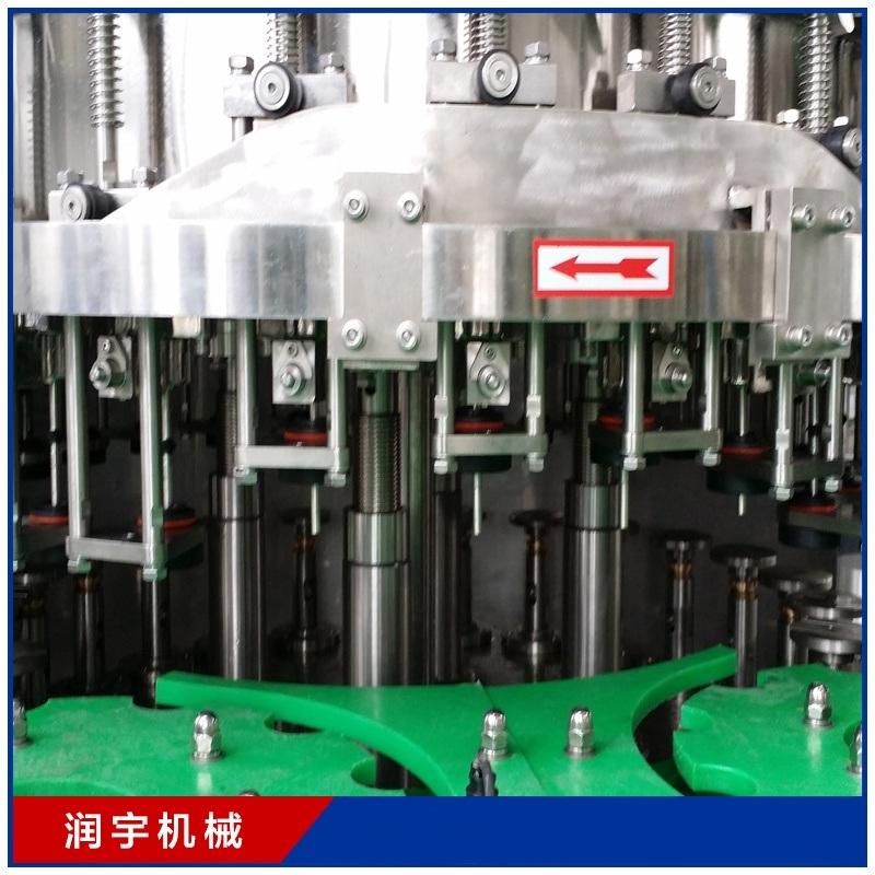 張家港市潤宇機械含氣飲料灌裝機碳酸飲料
