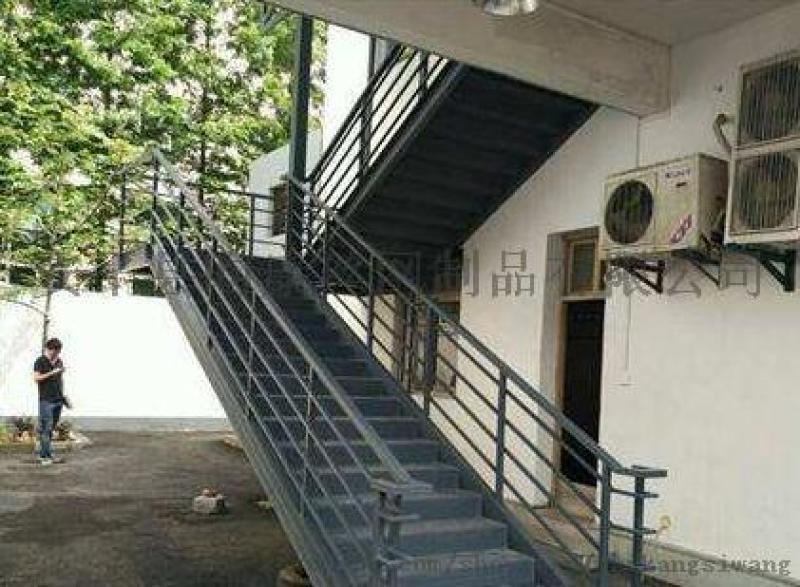 消防楼梯生产厂家/旋转型楼梯/钢结构铁艺楼梯