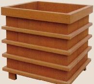 塑膠木花箱HHX-007