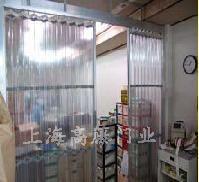 防静电超透明pvc折叠门帘