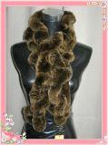 獭兔编织围巾